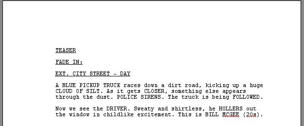 scriptfaze tv script format