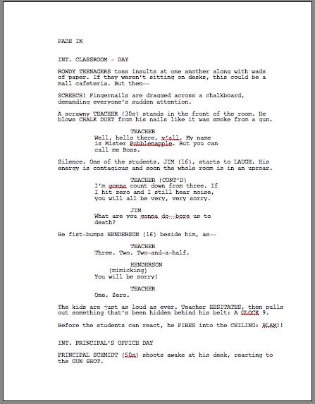 Kuinka elokuvia kirjoitetaan?