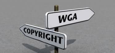 WGA versus COPYRIGHT